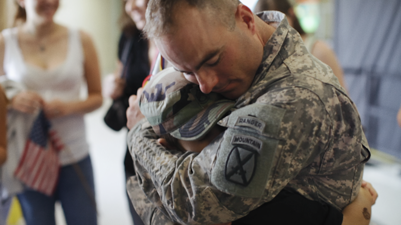 """Father Soldier Son"" (June 19, Netflix): The documentary follows a military family over the course of a decade, exploring the aftermath of a dad coming home injured from war and its effect on his sons."