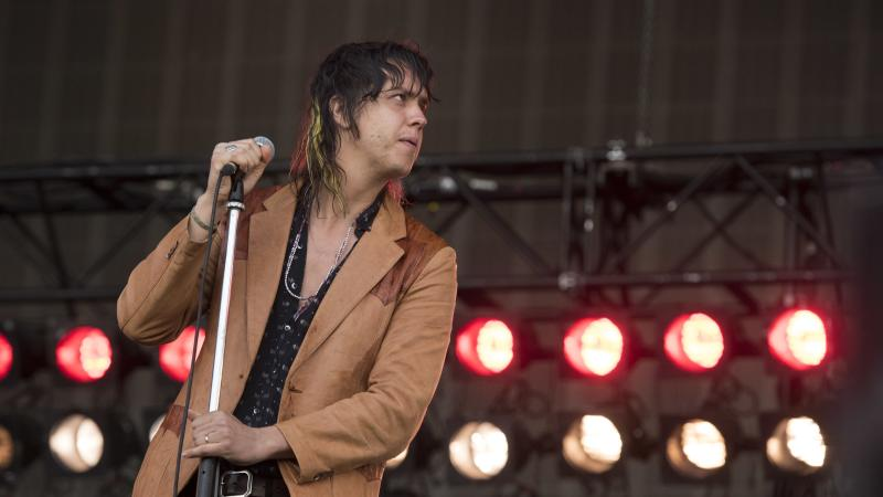 <p>Some at Victoria Park claimed Julian Casablancas was inaudible for those towards the back.</p>