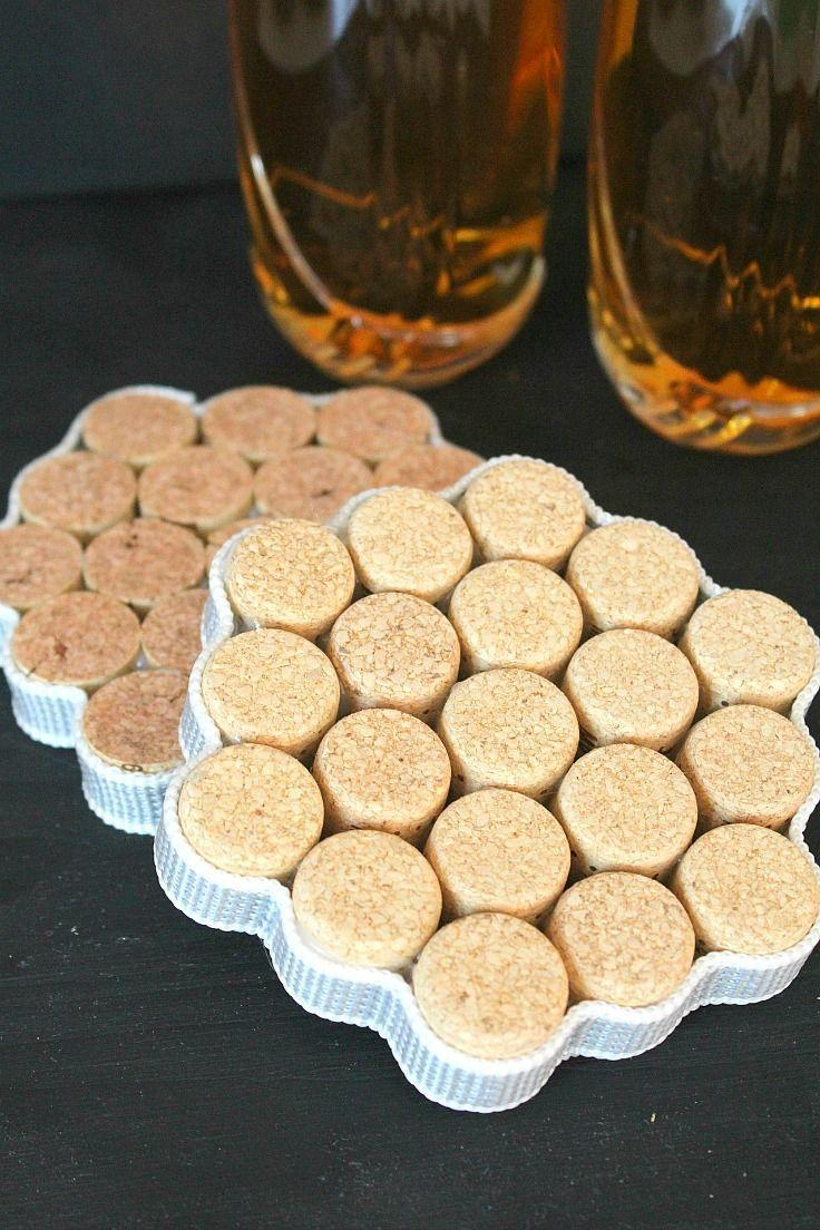 "<p>This gift combines mom's three great loves: you, wine, and a table without water rings.</p><p><em><a href=""https://theseamanmom.com/diy-cork-coasters/"" rel=""nofollow noopener"" target=""_blank"" data-ylk=""slk:Get the tutorial at The Seaman Mom »"" class=""link rapid-noclick-resp"">Get the tutorial at The Seaman Mom »</a></em> </p>"