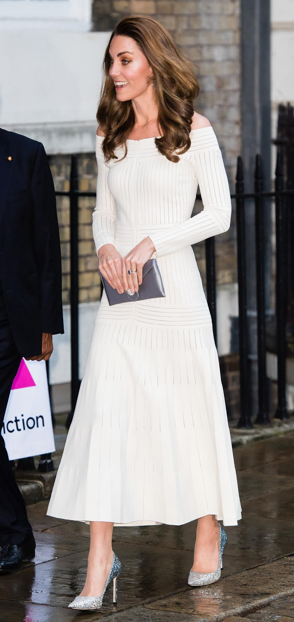 "<h1 class=""title"">The Duchess of Cambridge Attends Addiction Awareness Week Gala Dinner</h1><cite class=""credit"">Photo: Getty Images</cite>"