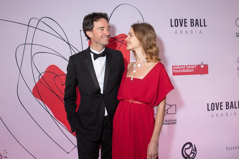 Natalia and her partner, Antoine Arnault at a Naked Heart Foundation ball. [Photo: Getty]