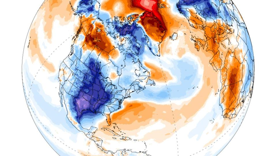 North America just had its coldest February since 1994
