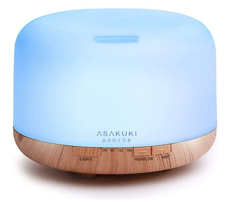 """This diffuser delivers up to 16 hours of vapor, has four timer settings and an auto shut-off feature. It has a 4.6-star rating and more than 14,000 reviews. <a href=""""https://amzn.to/3jn75ri"""" target=""""_blank"""" rel=""""noopener noreferrer"""">Find it for $26 on Amazon</a>."""