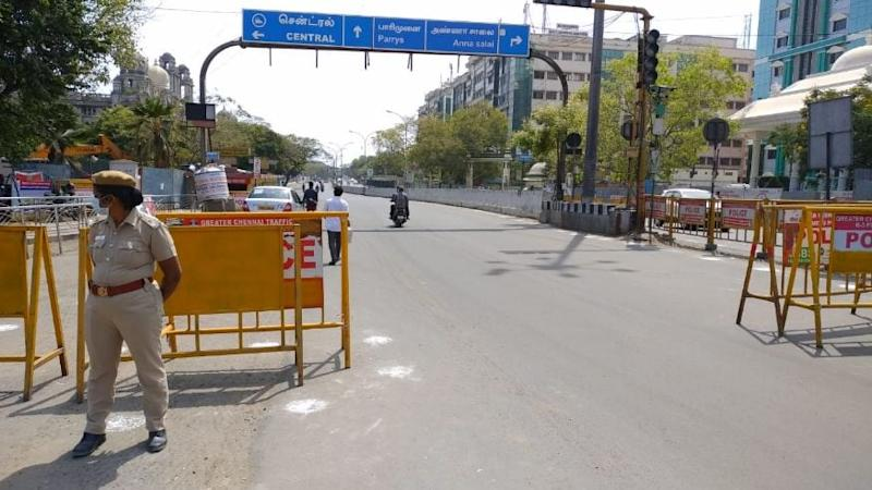Amid Rise in Covid-19 Cases, Chennai Comes to a Standstill on First Total 'Sunday Shutdown'