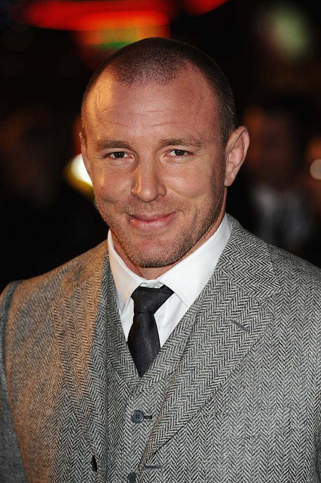 """<a href=""""http://movies.yahoo.com/movie/contributor/1800023092"""">Guy Ritchie</a> at the London premiere of <a href=""""http://movies.yahoo.com/movie/1810045845/info"""">Sherlock Holmes</a> - 12/14/2009"""
