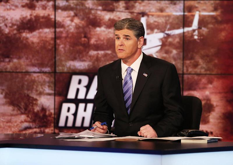 Hannity says that his comments were taken out of context: Paul Zimmerman/Getty Images