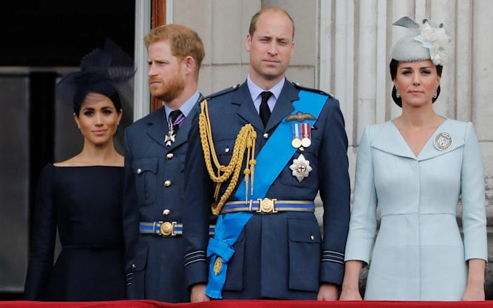 The Duchess said Catherine, Duchess of Cambridge made her cry before the wedding - AFP