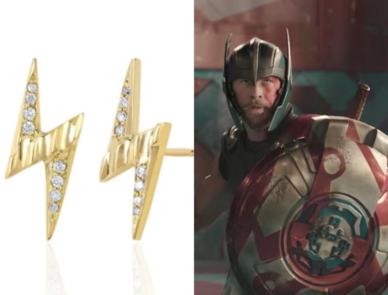 """This celeb-approved brand just launched a """"Thor""""-inspired jewelry collection"""