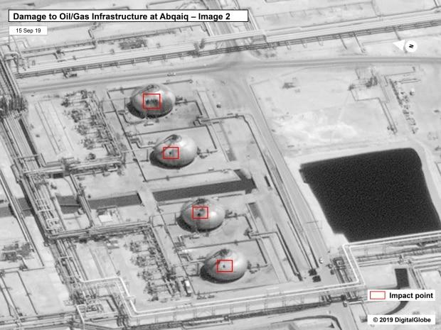 U.S. government/DigitalGlobe via AP