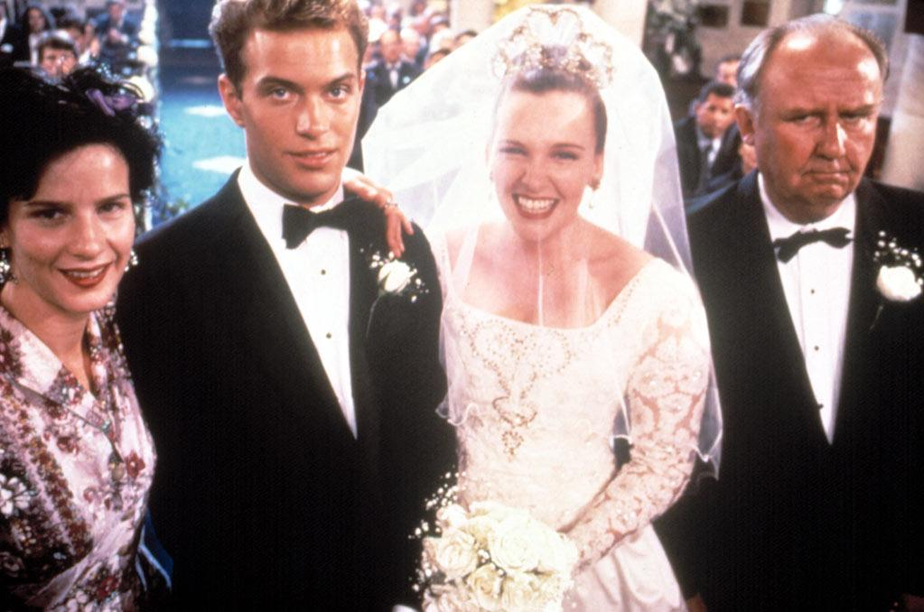 """<a href=""""http://movies.yahoo.com/movie/1800244741/info"""">Muriel's Wedding</a> (1994): A little-known Toni Collette and Rachel Griffiths, both in their first major movie roles, have a delightful chemistry in this Australian charmer about female friendship and ABBA worship. Collette stars as Muriel Heslop, a gawky, hopeless romantic who languishes in suburban misery and dreams of the day she'll walk down the aisle. Trouble is, she's never even had a date. But then she meets Griffiths' character, Rhonda, the firecracker who lifts her out of her doldrums and becomes her one true pal. Writer-director P.J. Hogan's film is sweet, funny, heartbreaking and so very honest. (Three years later, Hogan would go on to make """"My Best Friend's Wedding,"""" which features several of the conventions we mentioned at the start.)"""