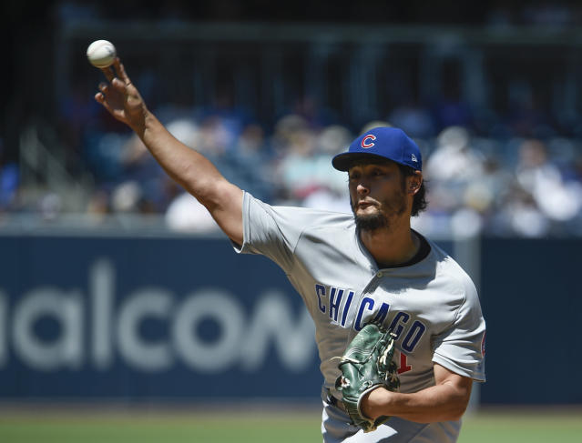 Yu Darvish (Photo by Denis Poroy/Getty Images)