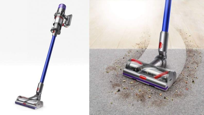 It intuitively knows what type of floor or surface it's cleaning.
