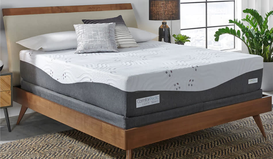 Wake up refreshed every morning — invest in a better mattress. (Photo: Wayfair)