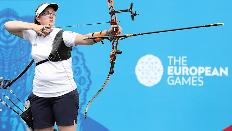 Archer Sarah Bettles won team archery gold for Team GB at the recent European Games in Minsk.