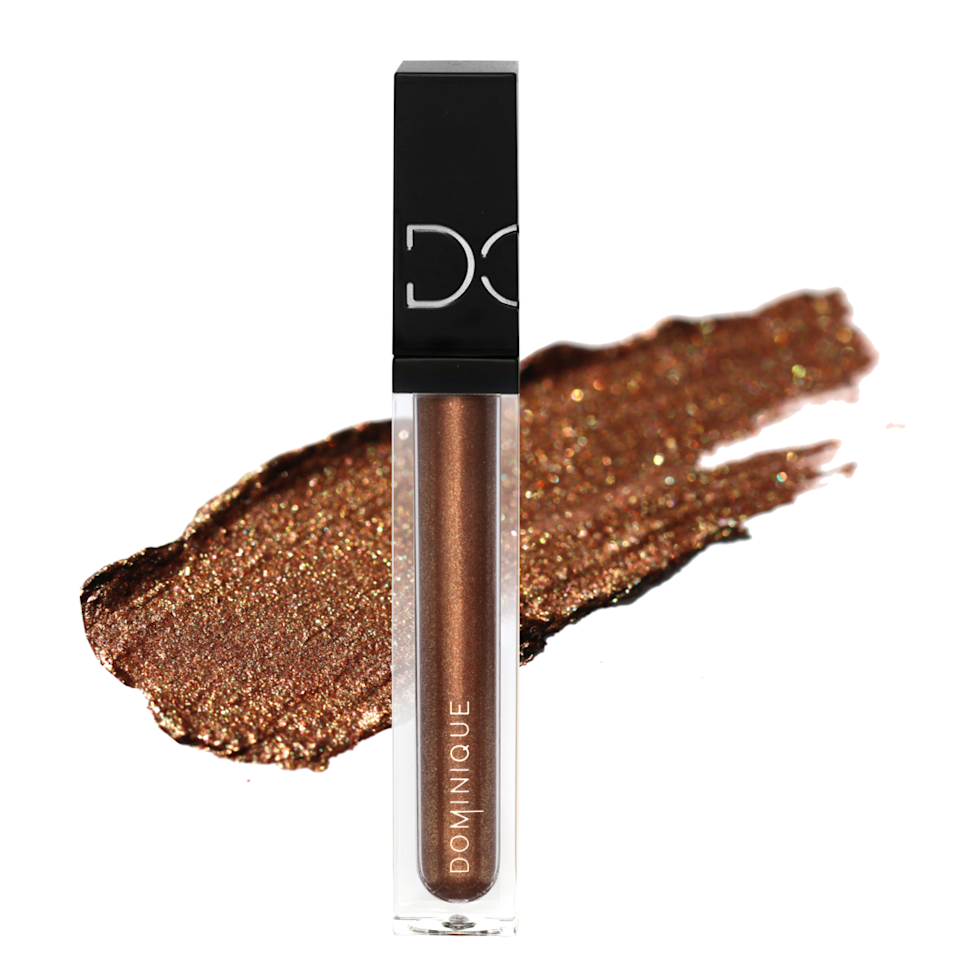 """<p>You don't need expert-level makeup skills to get along with Dominique Cosmetics's Beautiful Mess Liquid Eye Shadow — in fact, the imperfection is kind of this product's point. Mix and match any of these six glitter-packed shades for a color-shifting look that doesn't require much time nor effort. </p> <p><strong>$20</strong> (<a href=""""https://shop-links.co/1718208081465899827"""" rel=""""nofollow noopener"""" target=""""_blank"""" data-ylk=""""slk:Shop Now"""" class=""""link rapid-noclick-resp"""">Shop Now</a>)</p>"""