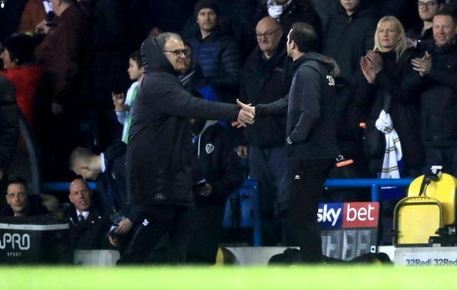 Chelsea boss Frank Lampard and Leeds manager Marcelo Bielsa could renew old rivalries when their sides meet on Saturday