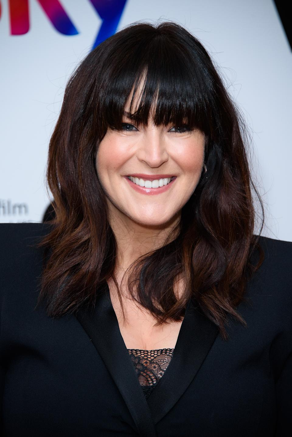 LONDON, ENGLAND - DECEMBER 06: Anna Richardson during the Women in Film & TV Awards 2019 at Hilton Park Lane on December 06, 2019 in London, England. (Photo by Joe Maher/Getty Images)