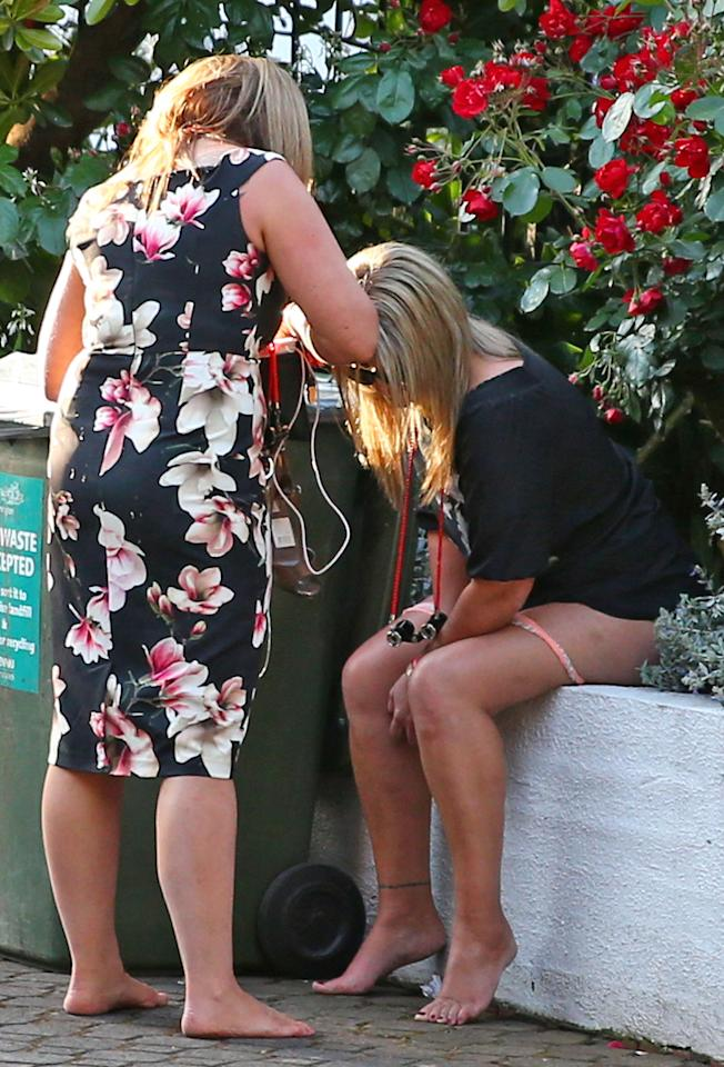 <p>One lady took it a little too far when she was spotted by police with her pants down.</p>