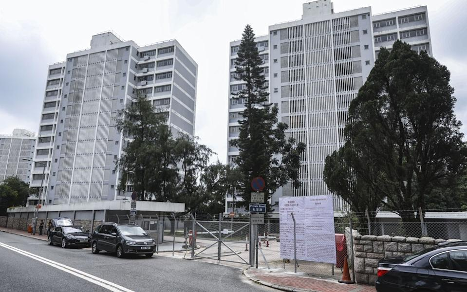 Exterior of the Hong Kong government's Quarters Premises at 6-8 Mansfield Road on The Peak on September 14, 2018. Photo: Roy Issa