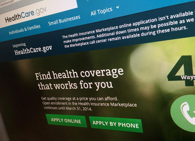 AP-GfK Poll: Negative view of health rollout eases