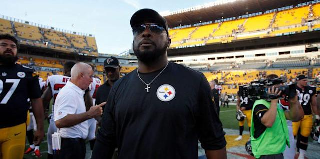 Mike Tomlin, Steelers head coach. (AP)