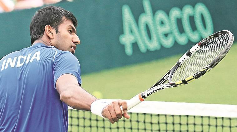 Rohan Bopanna has pulled out of the tie due to a shoulder injury. (File Photo)