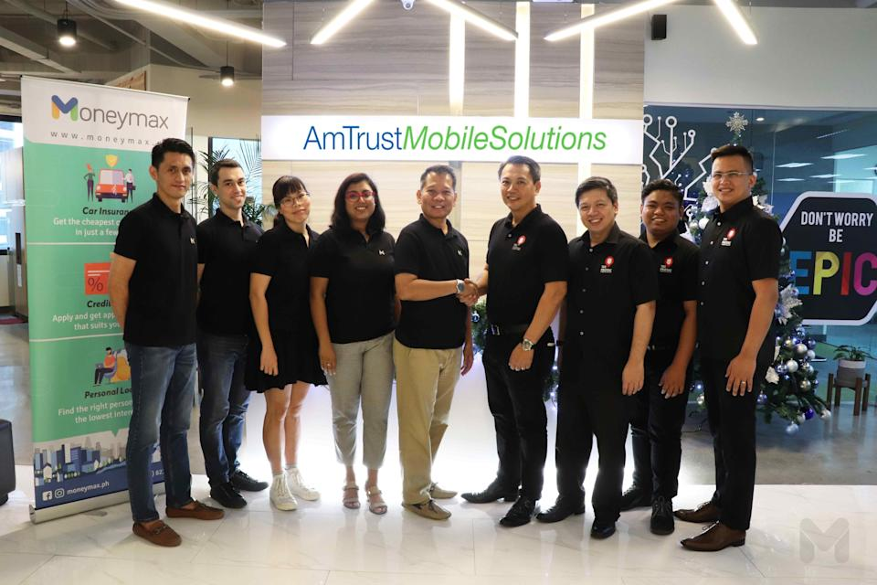 Moneymax and AmTrust Mobile Solutions Press Release