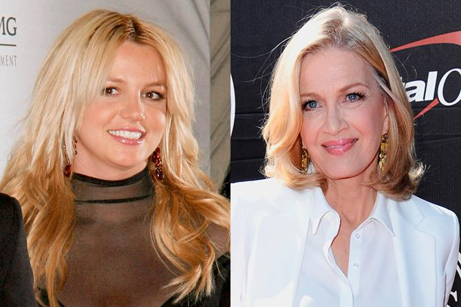 Britney Spears (Fame Pictures; Gtres); Diane Sawyer (AP Photo, Richard Shotwell, Gtres)