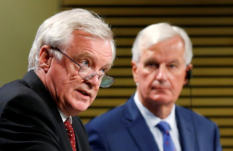 David Davis says £40bn Brexit bill is 'made up'