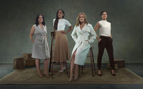 Gemma Fay, Alex Scott MBE, Gabby Logan and Eilidh Barbour are all part of the BBC's line-up - Credit: BBC Pictures' Digital Picture