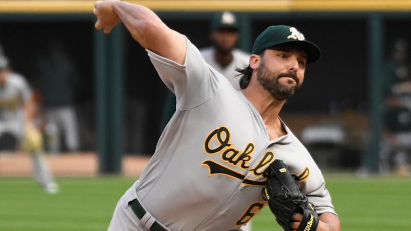 A's vs. Astros lineups: Tanner Roark tries to even series vs. Houston