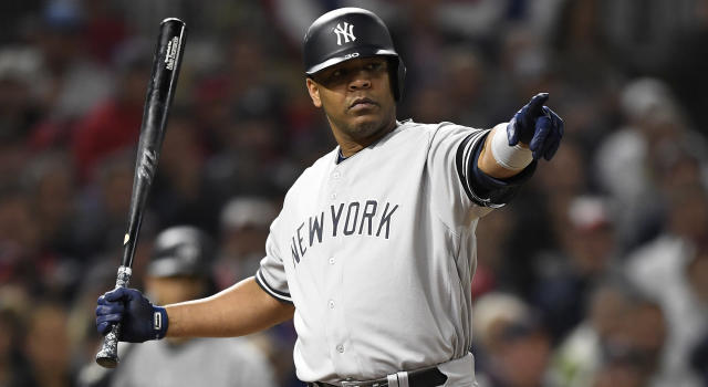 MINNEAPOLIS, MINNESOTA - OCTOBER 07: Edwin Encarnacion and the Toronto Blue Jays could be headed for a reunion next season. (Photo by Hannah Foslien/Getty Images)