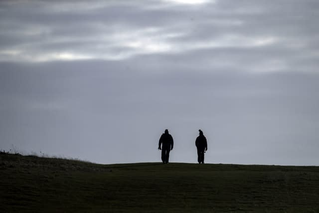 Going out for a walk, alone or with a member of your household, is permitted (Steve Parsons/PA)