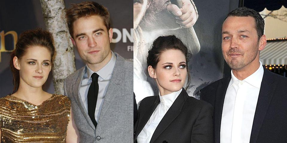 "<p>Fans were very disappointed when photos surfaced of Stewart and Sanders getting a little too close. She was very famously dating her <em>Twilight </em>co-star Robert Pattinson, and they ended their relationship over the affair. </p><p>""I lit my universe on fire and I watched it burn,"" she said in <a href=""https://www.marieclaire.com/celebrity/a15008/kristen-stewart-marie-claire-interview/"" rel=""nofollow noopener"" target=""_blank"" data-ylk=""slk:an interview."" class=""link rapid-noclick-resp"">an interview.</a> ""Speaking very candidly, it was a really traumatic period in my early 20s that kick-started something in me that was a bit more feral.""</p>"