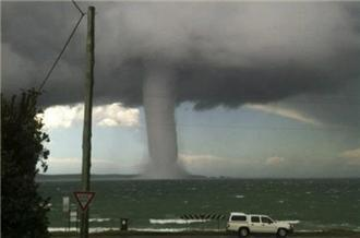 Waterspout spotted in New South Wales