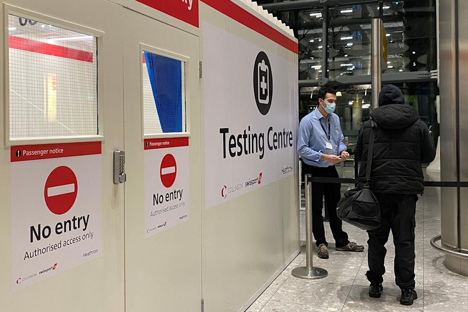 """<p>Quarantine will apply to Brits who visited any of 30 countries on a """"red list"""" of destinations</p> (PA)"""