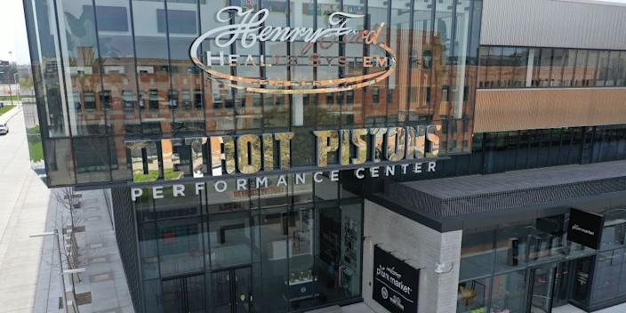 "Henry Ford Pistons Performance Center in Detroit, Michigan. <p class=""copyright"">Gregory Shamus/Getty Images</p>"
