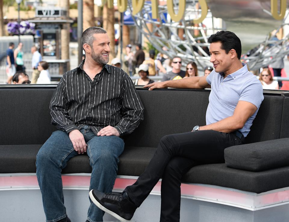 Mario Lopez, here with Dustin Diamond in 2016, says his friend and co-star will be remembered in the new season.