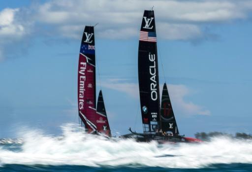 <p>'Pretty cool' - foiling monohulls for America's Cup 2021</p>