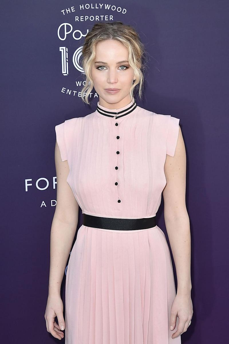 The actress wore the same dress to a Hollywood function in December 2017. Photo: Getty