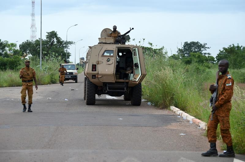 Burkina Faso has a history of coups and mutinies (AFP Photo/SIA KAMBOU)