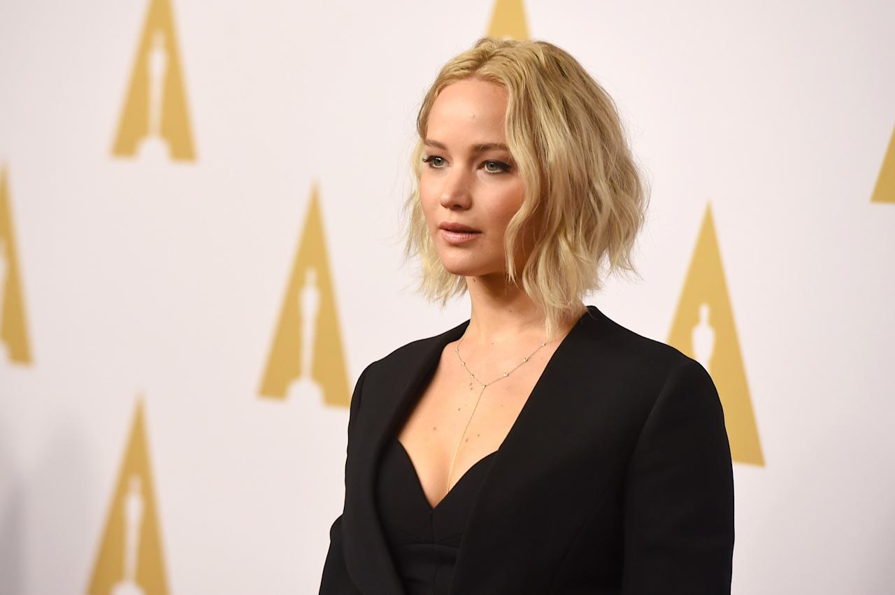 "<p>Jennifer Lawrence found herself at the center of the infamous 4chan leak when intimate photos she took of herself were stolen via iCloud. Speaking to Vanity Fair at the time she said: ""It is not a scandal. It is a sex crime.<br /> ""It is a sexual violation. It's disgusting. The law needs to be changed, and we need to change."" </p>"
