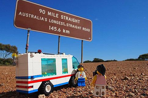 It was first just for friends and family, but the Lego Travellers Facebook page now has 2105 followers. An Instagram page followed and now has 4102 followers.