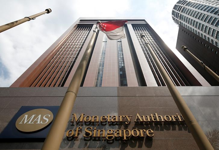 A view of the Monetary Authority of Singapore's headquarters in Singapore June 28, 2017. Picture taken June 28, 2017. REUTERS/Darren Whiteside