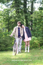 """<p>Before their relationship status was marked """"complicated,"""" Mike and Eleven were undoubtedly the sweetest pairing on <em>Stranger Things</em>. Remember the good ol' days with this easy-to-recreate ensemble. </p><p><em><a href=""""https://www.shrimpsaladcircus.com/diy-stranger-things-couple-costume-mike-and-eleven/"""" rel=""""nofollow noopener"""" target=""""_blank"""" data-ylk=""""slk:Get the tutorial at Shrimp Salad Circus >>"""" class=""""link rapid-noclick-resp"""">Get the tutorial at Shrimp Salad Circus >></a><br></em></p><p><strong>RELATED: </strong><a href=""""https://www.goodhousekeeping.com/holidays/halloween-ideas/a28483837/stranger-things-halloween-costume-ideas/"""" rel=""""nofollow noopener"""" target=""""_blank"""" data-ylk=""""slk:All the Stranger Things Costume Ideas You'll Ever Need"""" class=""""link rapid-noclick-resp"""">All the <em>Stranger Things</em> Costume Ideas You'll Ever Need </a><br></p>"""