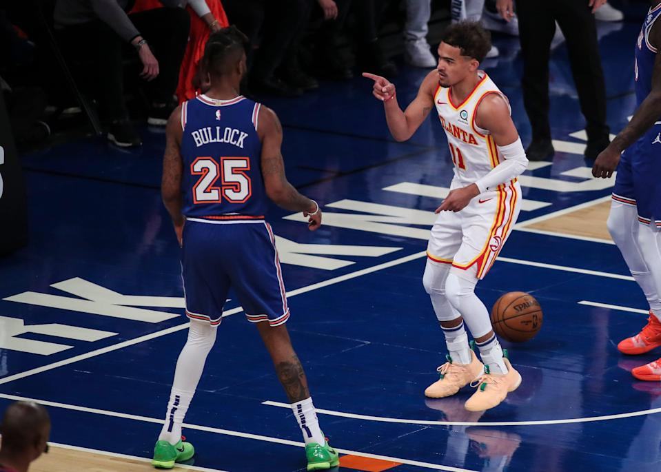 Trae Young averaged 29.2 points in his first career playoff series.