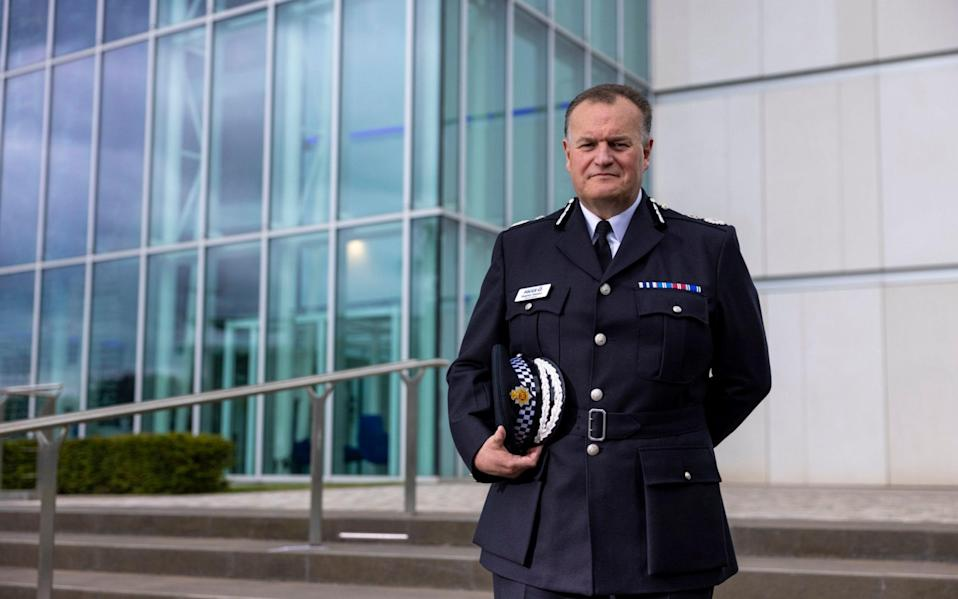 Stephen Watson of Greater Manchester Police - Heathcliff O'Malley