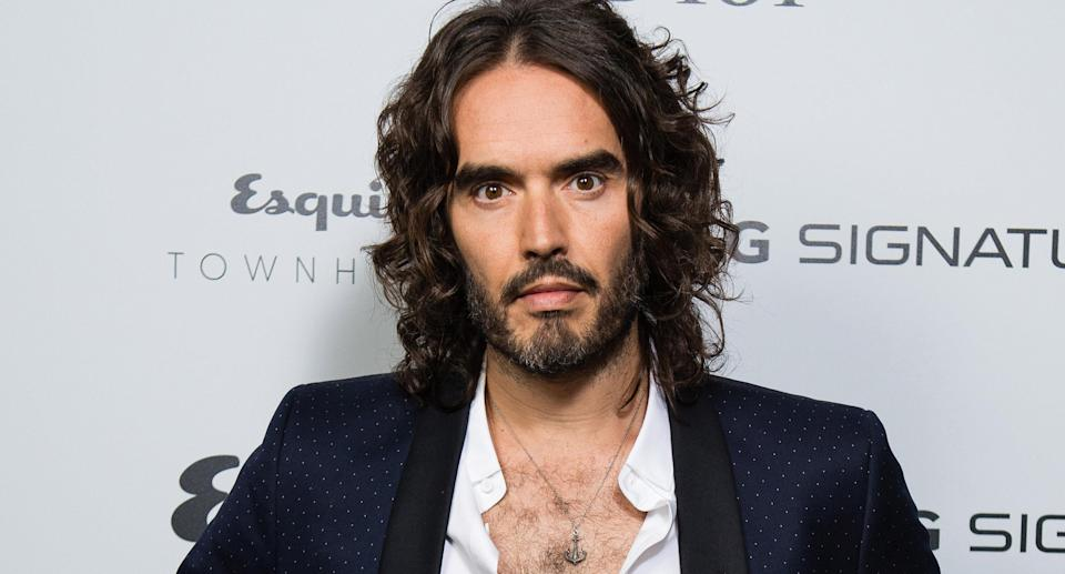 Russell Brand. Image via Getty Images.