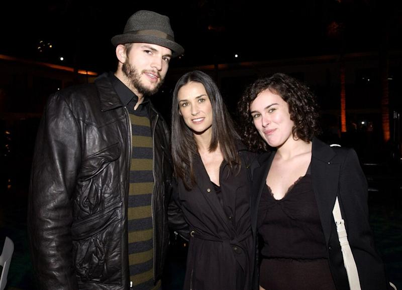 Ashton Kutcher says he will never stop loving Demi Moore's kids