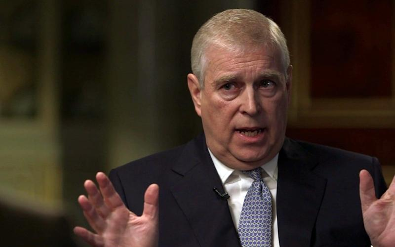 Prince Andrew - BBC supplied by Pixel8000